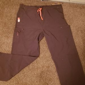 Brown Carhartt scrubs